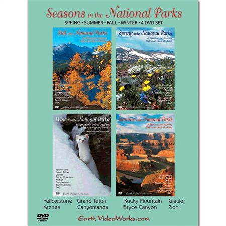 Seasons in the National Parks - Four DVDs