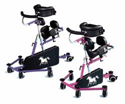 PONY & BRONCO Gait Trainers - Push Handle - Kids Special Needs Gait Trainers