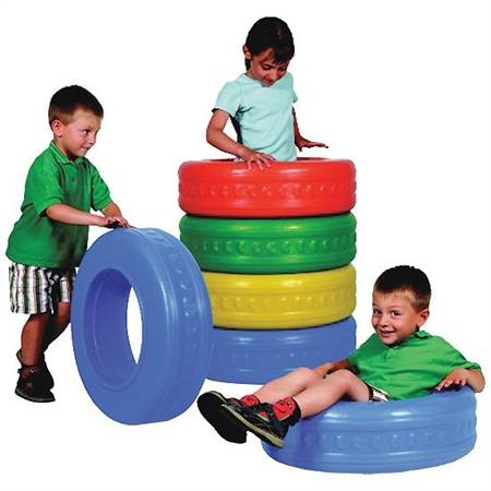 FunTire - Kids Special Needs Barrels And Tunnels