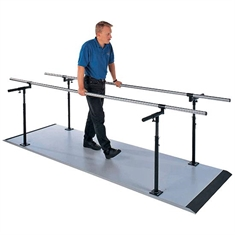 Economy Platform Mounted Parallel Bars