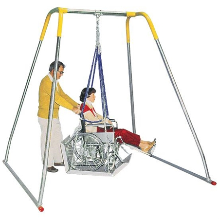 Wheelchair Swing - Indoor Swing Frame Only - Special Needs Swing Frames