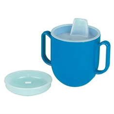 Pediatric No-Tip Weighted Base Cup