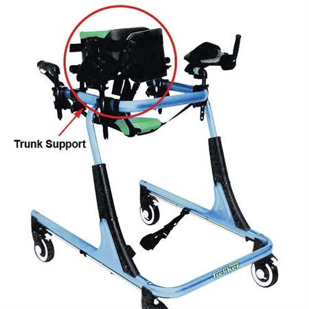 Trekker Gait Trainer Trunk Support - Kids Special Needs Gait Trainers