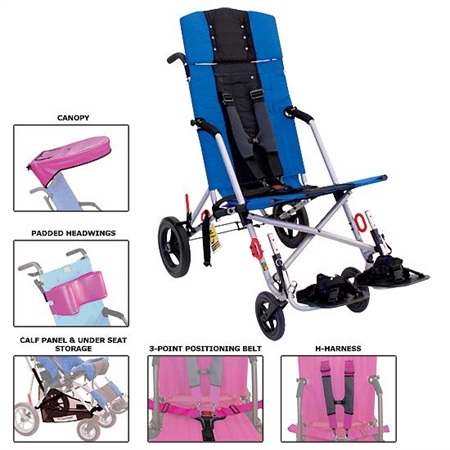 CXT Transit - CX16T - Kids Special Needs Strollers
