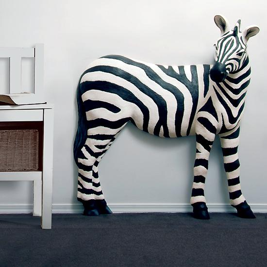 Zebra Wall Decor 3d wall décor zebra | flaghouse