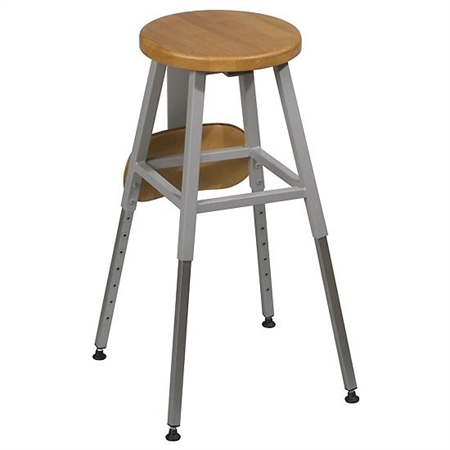 Height Adjustable Stool - Kids Special Needs Accessible Tables