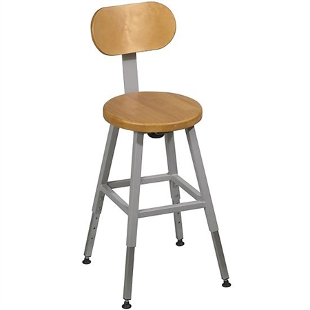 Stool back- 6 +' H x 11 +' W - Kids Special Needs Accessible Tables