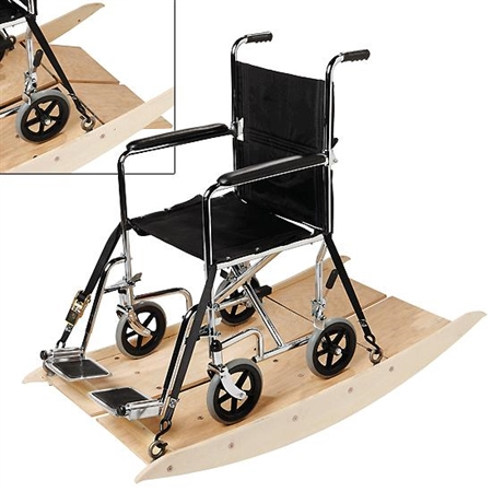 FlagHouse Wheel Chair Rocker - Kids Special Needs Rocker Boards