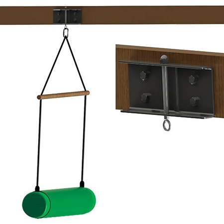 FlagHouse Wood Beam System - Kids Special Needs Sensory Integration Ceiling Mounts
