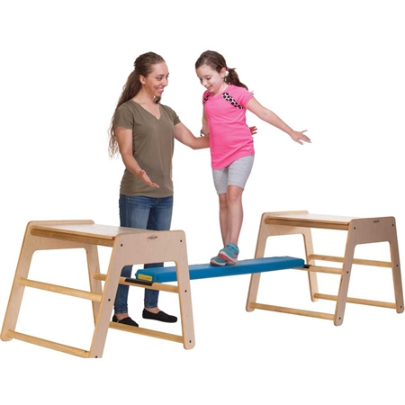 Balance Beam Attachment - Kids Special Needs Sensory Integration Heavy Work Equipment