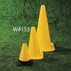 "Extra - Sturdy 18"" Marker Cone - Yellow"