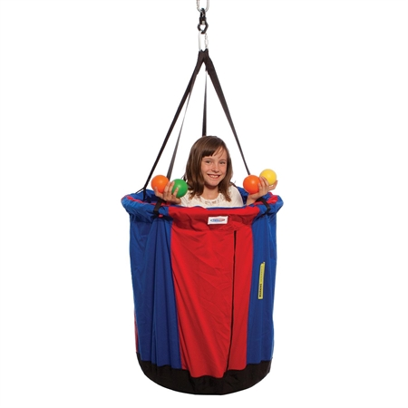 Circus Swing with 500 Balls - Kids Special Needs Sensory Integration Swings