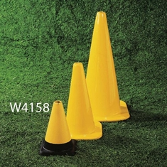 "Extra - Sturdy 12"" Marker Cone - Yellow"