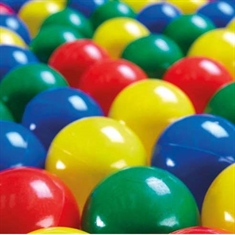 250 Ball Pool Balls - Assorted Colors