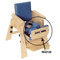 High Kinder Chair Optional Pelvic Femoral Stabilizer