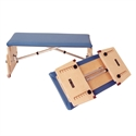 "Kaye Adjustable Benches - Folding Bench 14"" x 31"""