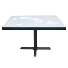 LightDots Interactive Metal Table