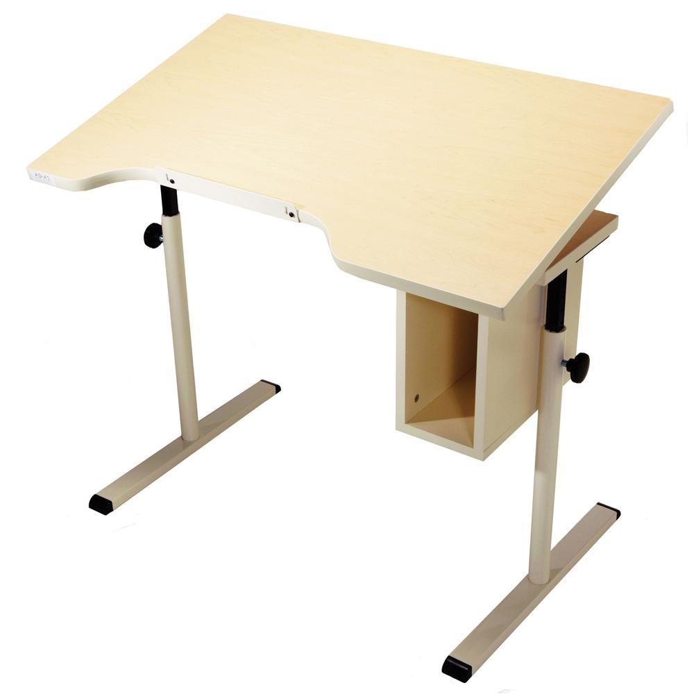 Remarkable Adjustable Tilt Desk With Storage Home Interior And Landscaping Elinuenasavecom
