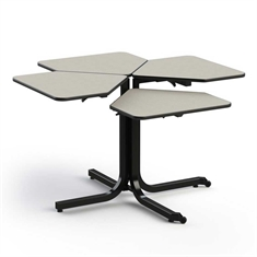 Wheel Chair Accessible Table- Single Pedestal