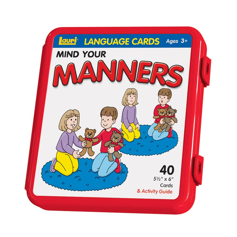 Mind Your Manners >> Language Cards Mind Your Manners