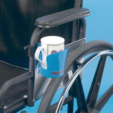 Clamp-on Wheelchair Drink Holder - set of 3