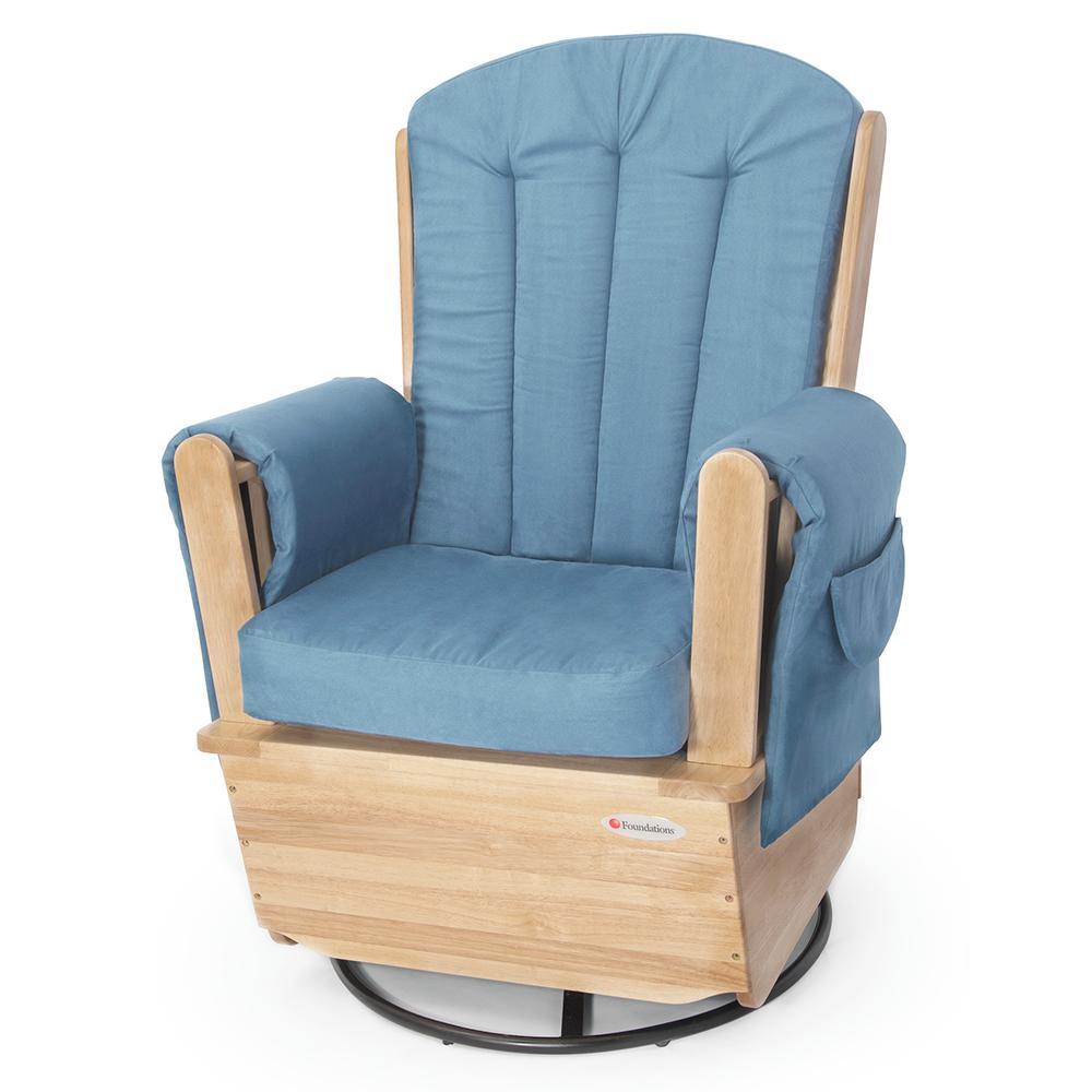 Swivel Rocker Glider Chair - Thumbnail 1  sc 1 st  Flaghouse : rocker and glider chairs - Cheerinfomania.Com