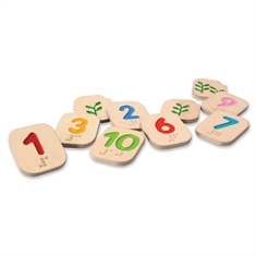 Braile Numbers 1-10