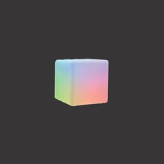 "8"" LED Orb Deco Cube"