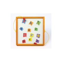 Magnetic Interactive Activities- Letters Shape Match