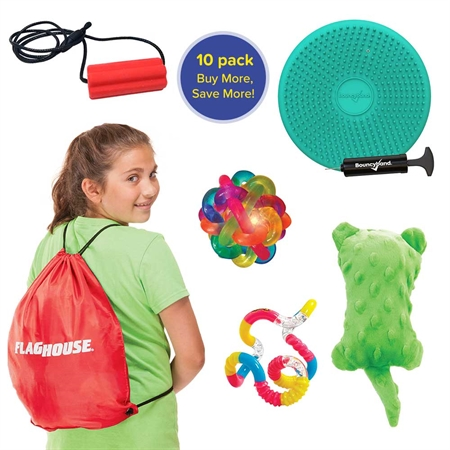 Personal Sensory Sack - Middle School Age - Set of 10