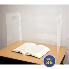 Personal Space™ Desk Dividers - 36 count