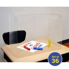 Personal Space™ Desk Dividers - Middle/High School - 36