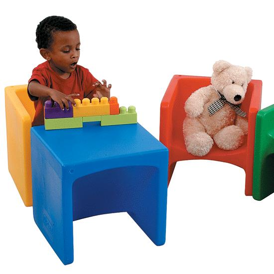 Delicieux Multi   Purpose Cube Chair Set