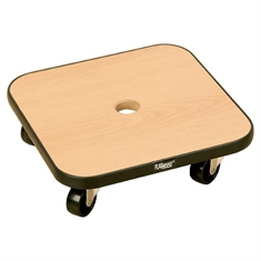 Wooden Scooter with Vinyl Bumpers - Square