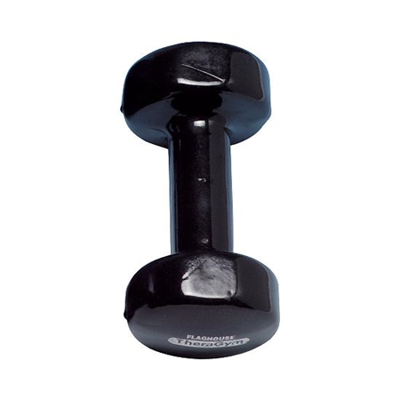 Vinyl - Covered Iron Dumbbell - 10 lbs - Kids Special Needs Weights