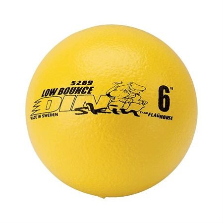 FLAGHOUSE DINO SKINT - Low Bounce - Coated Foam Ball - 6'' dia