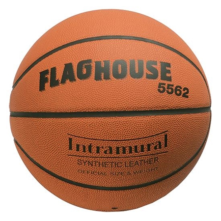 FLAGHOUSE Indoor / Outdoor Synthetic Basketball - Large, Size 7