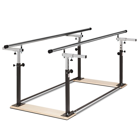THERAGYM Folding Parallel Bars - 7'L - Kids Special Needs Clinic Parallel Bars