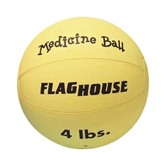 FlagHouse Rubber Medicine Balls - 4 lbs