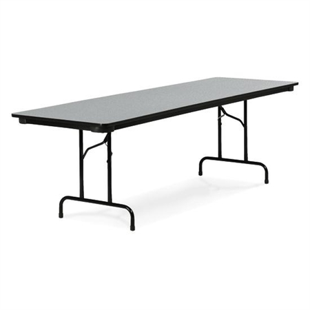 Round Traditional Folding   Leg Table By VIRCO    Kids Blank