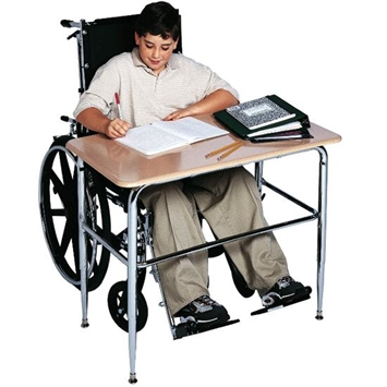 Wheelchair accessible desk flaghouse Handicap wheelchair