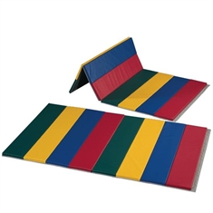 FlagHouse Deluxe Rainbow Mats - 4 Sided Hook & Loop - 4' x 8'