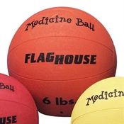 FLAGHOUSE Rubber Medicine Balls - 6 lbs