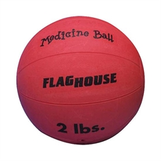 FlagHouse Rubber Medicine Balls - 2 lbs