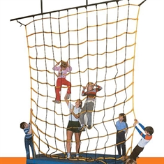 "Climb Net with 11""-Square Opening 18' x 18'"