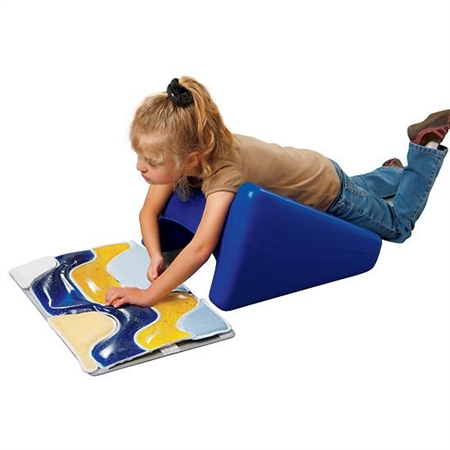 BiForm Wedges - 4' or 6' elevation; 18'W x 22'L - Kids Special Needs Positioning Systems