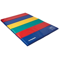 FlagHouse Deluxe Rainbow Mats - 2 Sided Hook & Loop - 4' x 6'