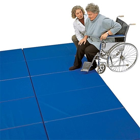 FLAGHOUSE Extra - firm Folding Mat Set - Special Needs Therapy Mats