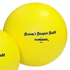 "BOOM'R Beeper Ball - Foam Beeper Ball - 8 1/4"" dia"
