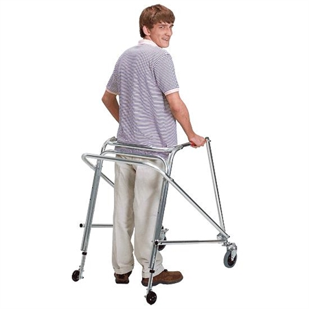 KAYE Posture Control Walkers - Swivel Front - 25'' H - Kids Special Needs Walkers